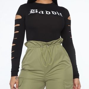 Fashion nova baddie shirt